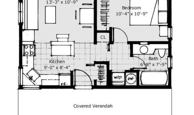 Very Small Guest House Plans