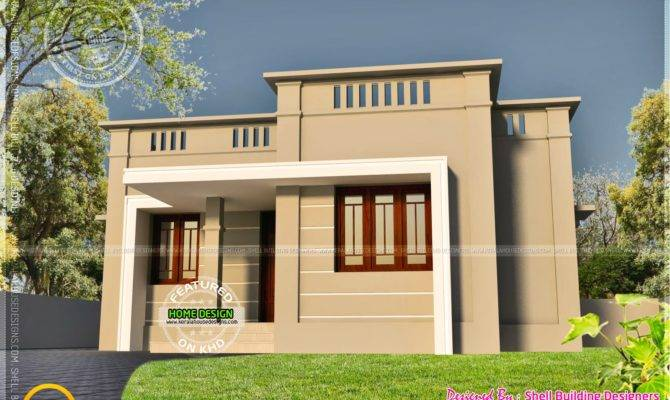 Very Small House Exterior Home Kerala Plans