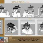 Viaje Chihiro Aniversario Fanart Bath House Model