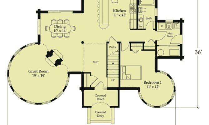 Victoria Castle Log Home Plan Castles Bet Bilt
