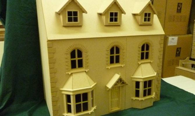 Victorian Bay Window Dolls House Rooms Scale Wide Deep