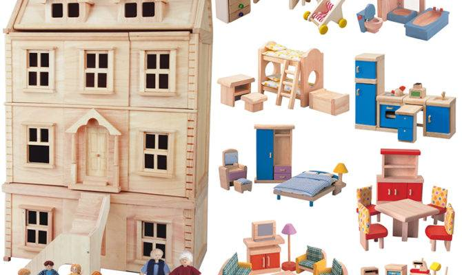 Victorian Doll House Build Three Story Seven Room