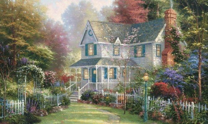 Victorian Garden Thomas Kinkade Company