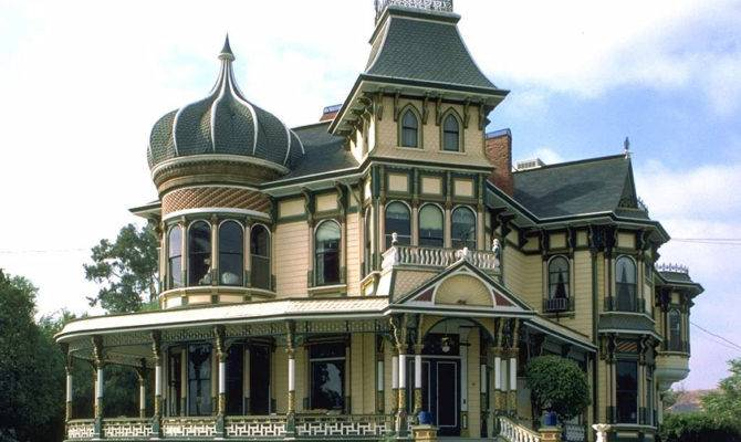 Victorian Gothic Mansion