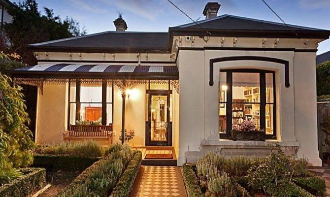 Victorian House Exterior Porch Feature Lighting Facade