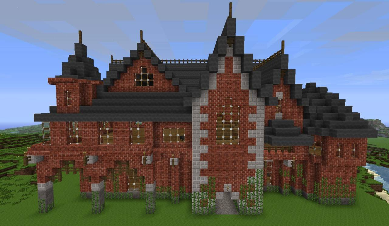 Victorian House Minecraft Project House Plans 75535
