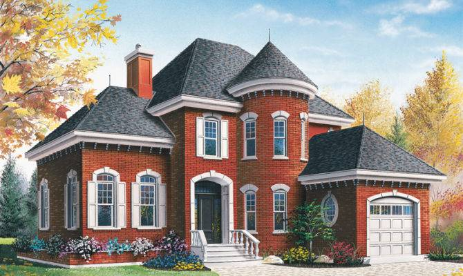 Victorian House Plan Front Plans More
