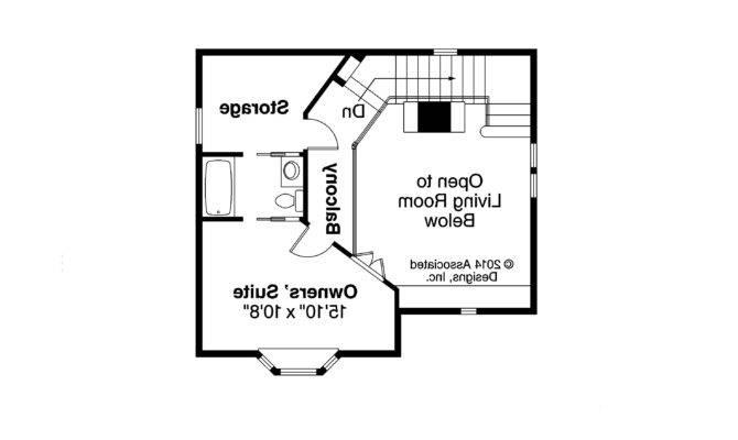 Victorian House Plan Langston Second Floor