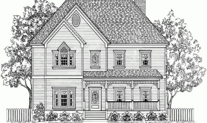 Victorian House Plan Square Feet Bedrooms Dream