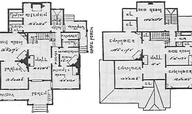 Victorian House Plans Stick Style Designs Original