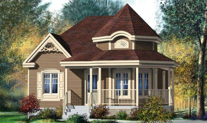 Victorian House Wrap Around Porch Small Style Design