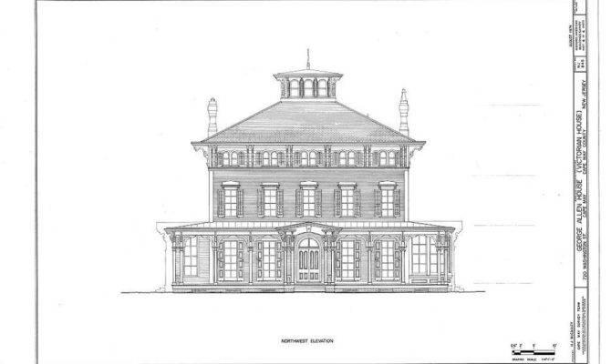 Victorian Italianate House Large Porches Romantic