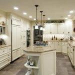 Victorian Kitchen Floor Plans Islands Almond White Island