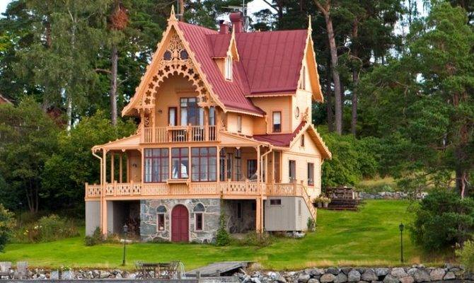 Victorian Lake House Home Styles Homes Pinterest