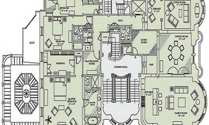 Victorian Mansion Floor Plans