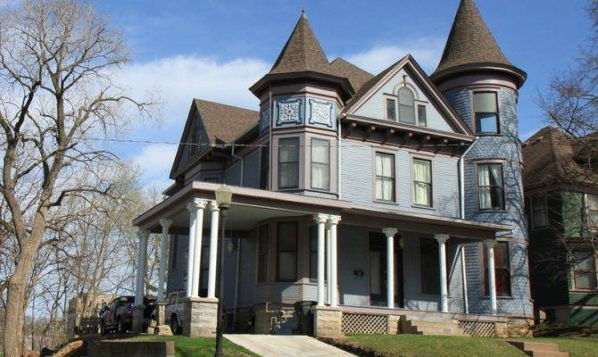Victorian Queen Anne Davenport Iowa Oldhouses