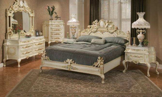 Victorian Style Classic Bed Room French Design