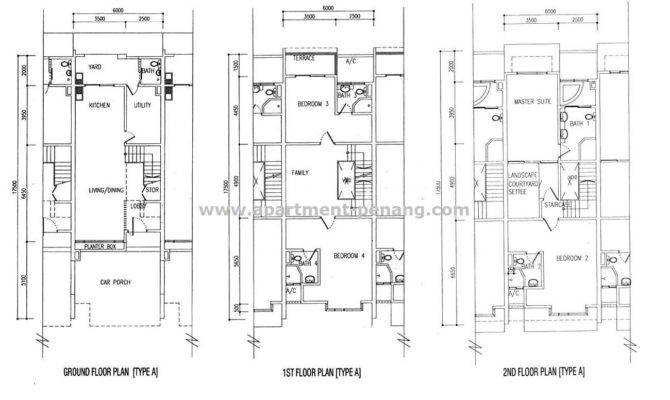 Victorian Terraced House Floor Plans