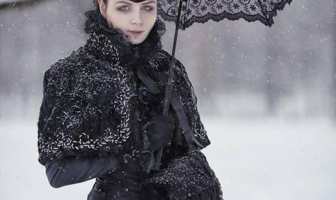 Victorian Winter Gothic Gown Blackmart Deviantart