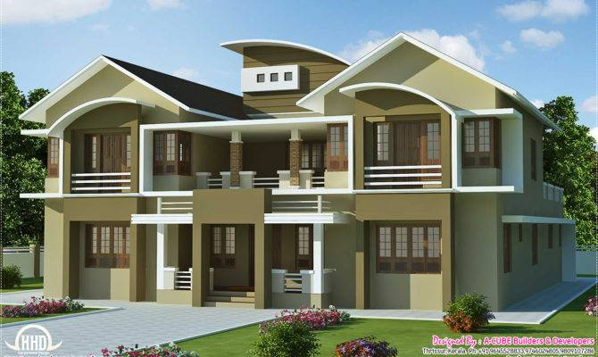 Villa Design Feet Kerala Home Floor Plans