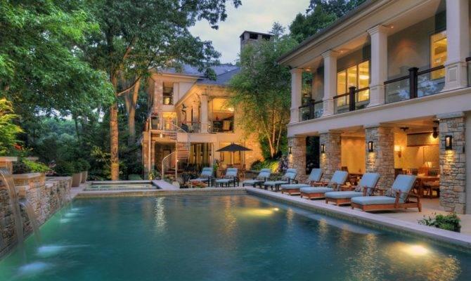 Villa Eclectic Mansions Pools Design Beautiful Polls