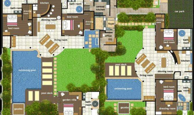 Villa Plans India Disney Floor Related House