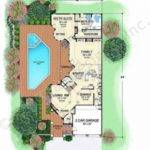 Villa Zeno Narrow Floor Plans Texas Style