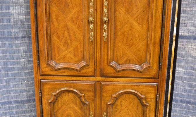 Vintage Drexel Country French Style Armoire Fitted
