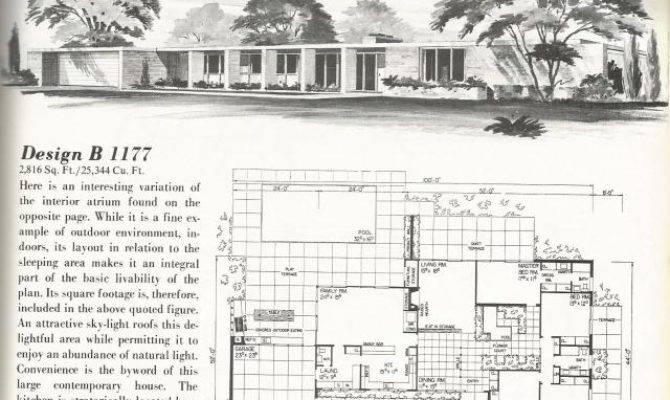 Vintage House Plans Large Country Estate Homes Antique