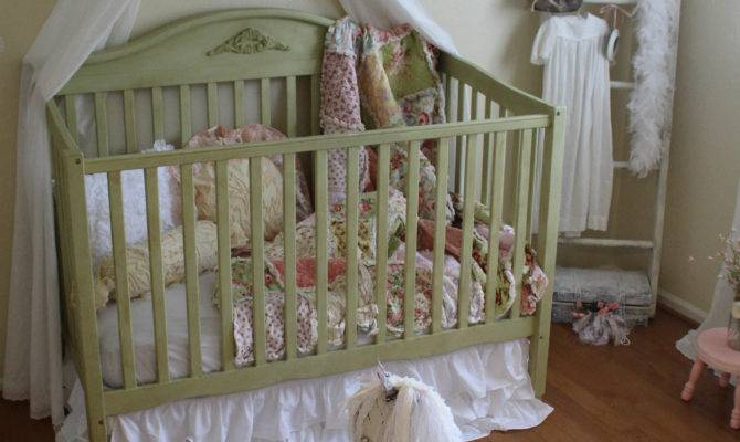Vintage Inspired Shabby Chic Nursery Project