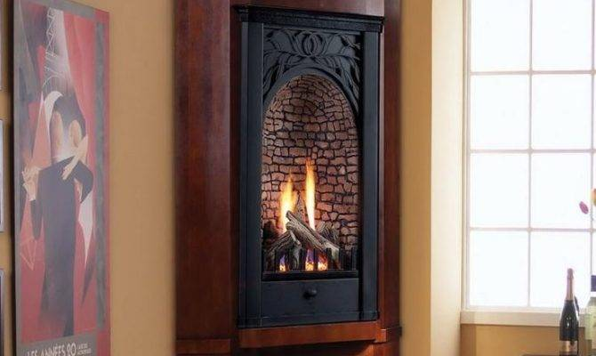 Vintage Modern Gas Fireplace Lanewstalk