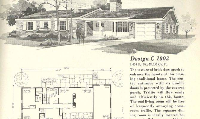 Vintage Ranch House Plans Unique