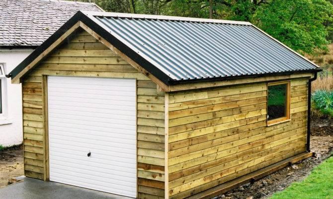Vintage Shed Roof Garage Iimajackrussell Garages