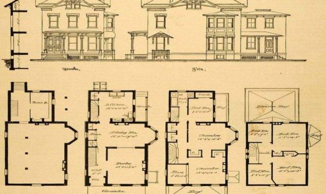 Vintage Victorian House Plans Authentic