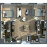 Visualizer Rayvat Two Bedroom Apartment All Drama