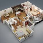 Visualizer Rishabh Kushwaha Two Bedroom Bit Privacy Yes
