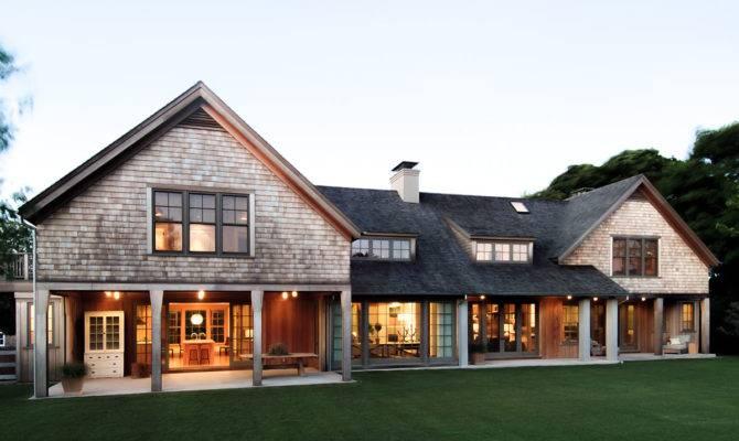 Wainscott Main House Modern Shingle Style Architecture