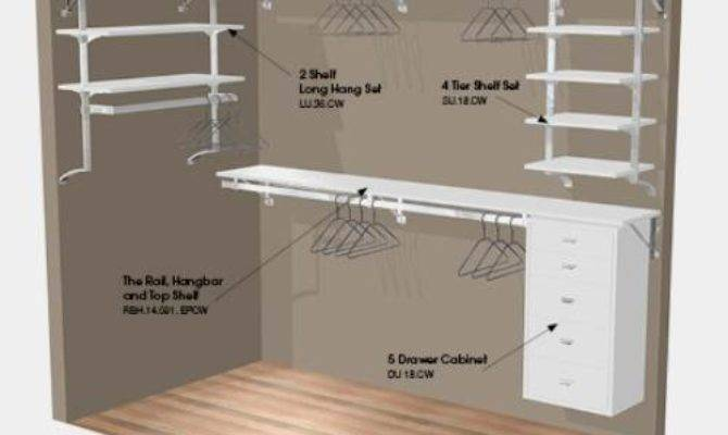 Walk Closet Design Plan Interior