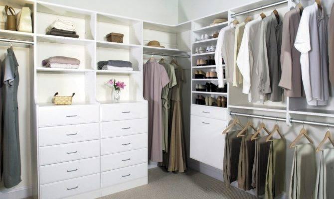 Walk Closet Organization Tips Selecting Small