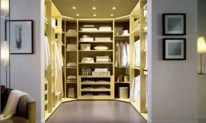 Walk Closet Traditional Modern Interior Design Small