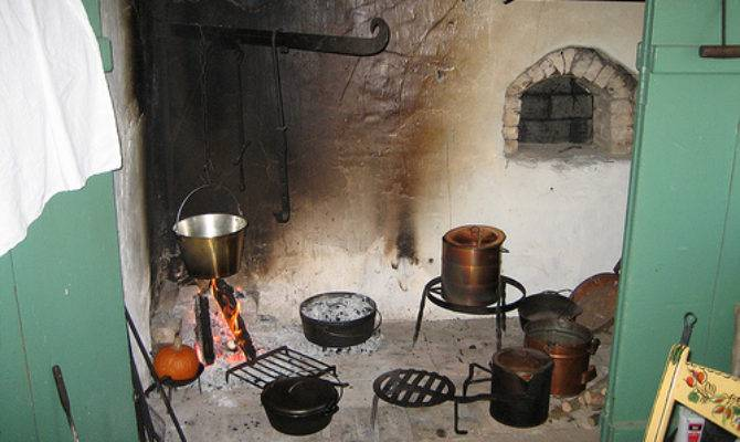 Walk Cooking Fireplace Restored Farmhouse Flickr