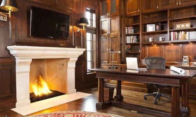 Walk Fireplace Home Design Ideas Remodel