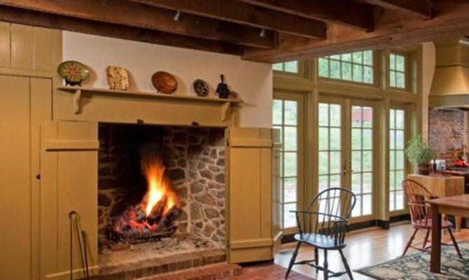 Walk Fireplace Ideas Remodel Decor