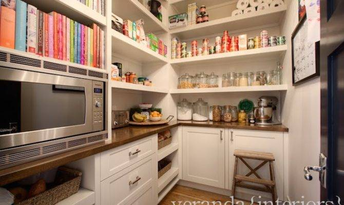 Walk Pantry Ideas Transitional Kitchen Veranda Interiors