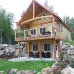 Walkout Basement Homes Log Cabin Quotes