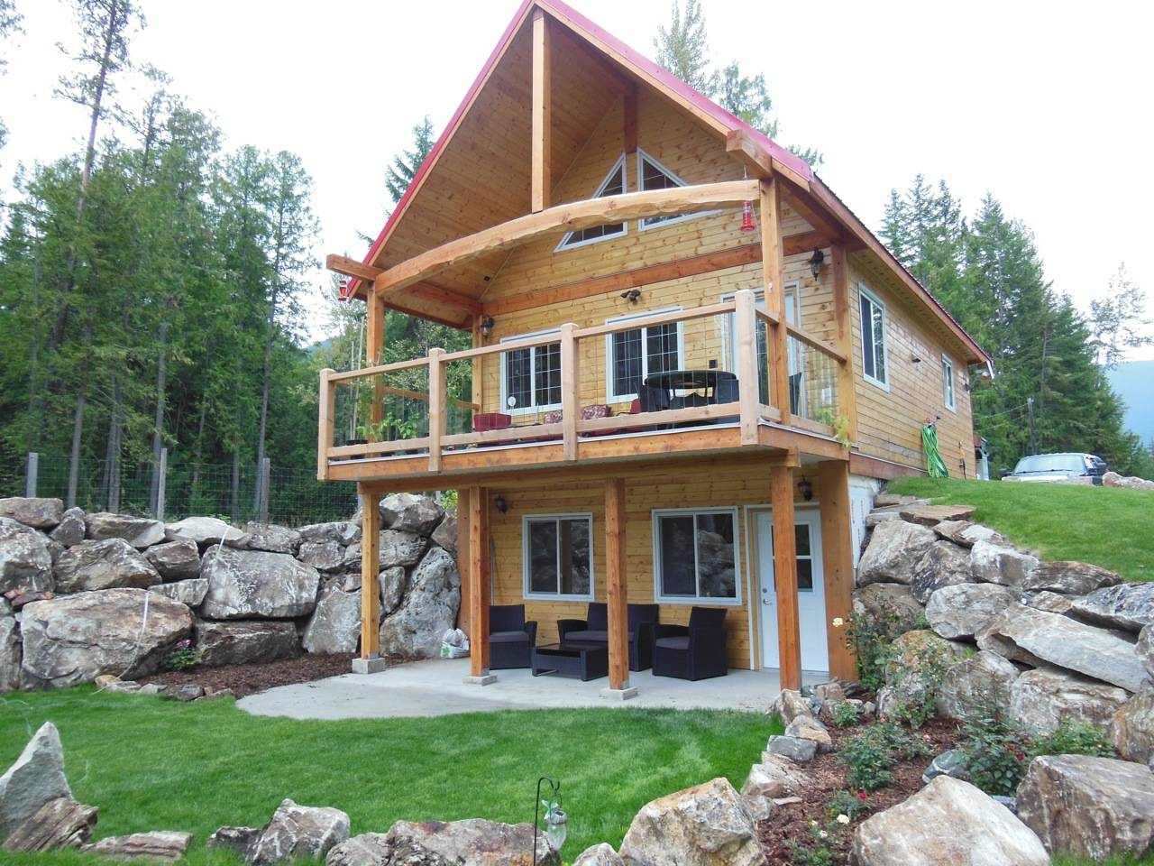 Walkout Basement Homes Log Cabin Quotes House Plans 48104