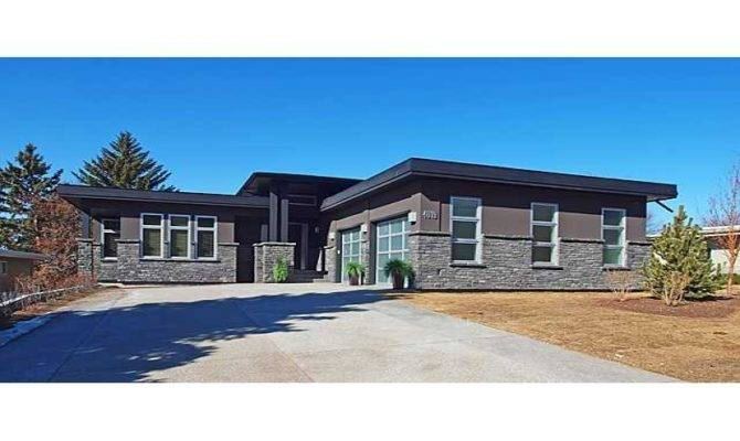 Walkout Basement House Plans Bungalow Built