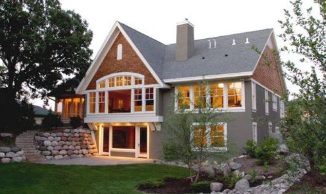 Walkout Basement Landscaping Home Design Ideas