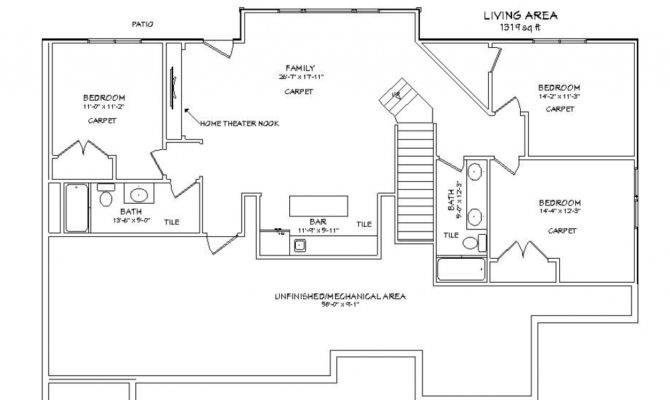 Walkout Basement New Plans Latest