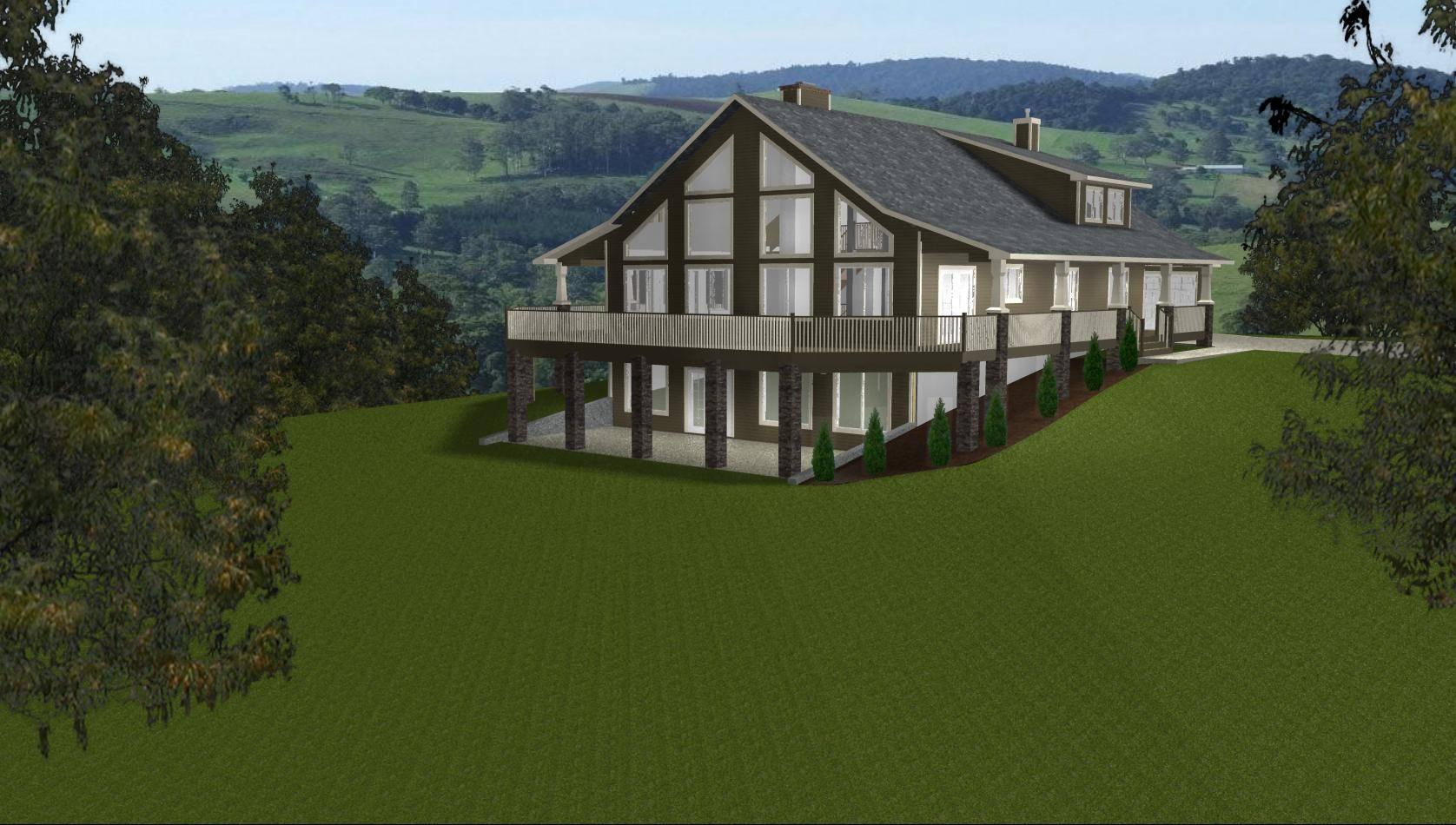 Walkout  Basements  Designs  Bungalow  House  Plans  House